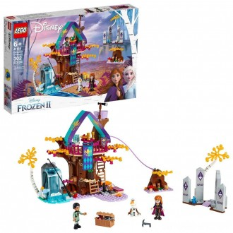LEGO Disney Princess Frozen 2 Enchanted Treehouse 41164 Toy Treehouse Building Kit for Pretend Play