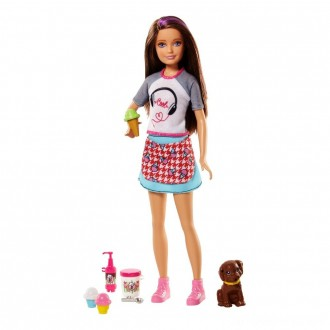 Black Friday - Barbie Sisters Skipper Doll and Ice Cream Accessory Set