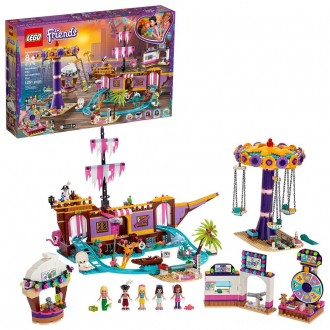 Black Friday - LEGO Friends Heartlake City Amusement Park with Toy Rollercoaster Building Set with Mini Dolls 41375