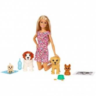 Black Friday - Barbie Doggy Daycare Doll & Pets