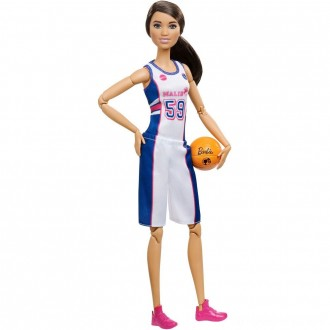 Black Friday - Barbie Made to Move Basketball Player Doll