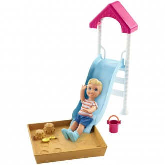 Black Friday - Barbie Skipper Babysitters Inc. Friend Doll and Playground Playset