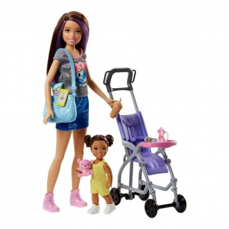 Black Friday - Barbie Skipper Babysitters Inc. Doll and Stroller Playset