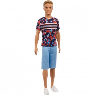 Black Friday - Barbie Ken Fashionistas Doll - Hyper Print