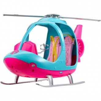 Black Friday - Barbie Travel Helicopter, toy vehicle playsets