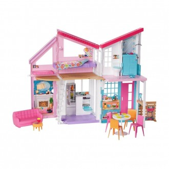 Black Friday - Barbie Malibu House Doll Playset