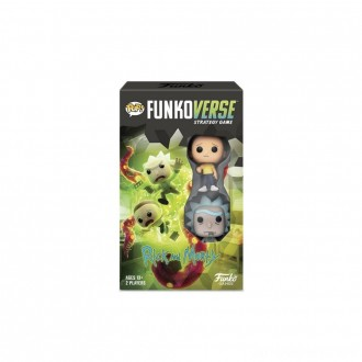 Black Friday - Funkoverse Board Game: Rick and Morty #100 Expandalone, Adult Unisex