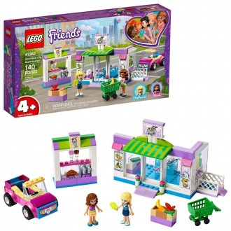 Black Friday - LEGO Friends Heartlake City Supermarket 41362 Building Set, Mini Dolls, Supermarket Playset 140pc