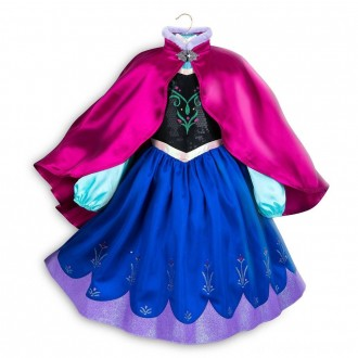 Black Friday - Disney Frozen 2 Anna Kids' Dress - Size 5-6 - Disney store, Girl's, Blue
