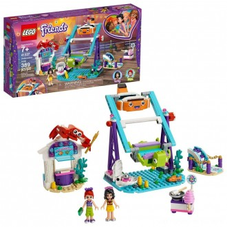 Black Friday - LEGO Friends Underwater Loop 41337 Amusement Park Building Kit with Mini Dolls for Group Play 389pc