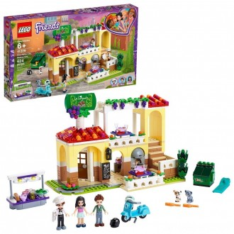 Black Friday - LEGO Friends Heartlake City Restaurant 41379 Building Kit with Restaurant Playset and Mini Dolls