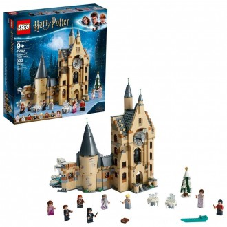 Black Friday - LEGO Harry Potter and The Goblet of Fire Hogwarts Clock Tower Castle Playset with Minifigures 75948