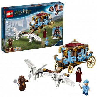 Black Friday - LEGO Harry Potter Beauxbatons' Carriage: Arrival at Hogwarts 75958 Toy Carriage Building Set 430pc