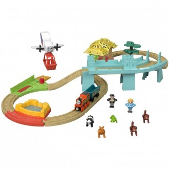 Black Friday - Fisher-Price Thomas & Friends Wood Big World Adventure Set