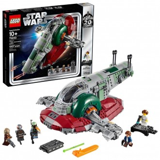 Black Friday - LEGO Star Wars Slave l – 20th Anniversary Collector Edition Collectible Model 75243 Building Kit