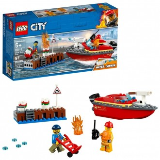Black Friday - LEGO City Dock Side Fire 60213