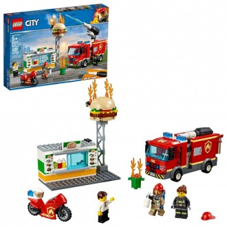 Black Friday - LEGO City Burger Bar Fire Rescue 60214