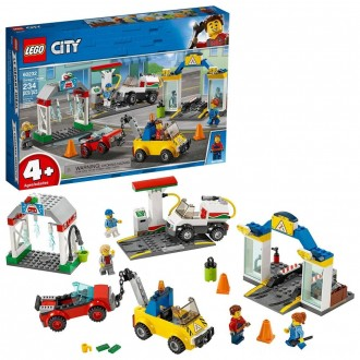 Black Friday - LEGO City Garage Center 60232 Building Kit for Kids 4+ with Toy Vehicle 234pc