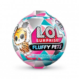 Black Friday - L.O.L. Surprise! Fluffy Pets Winter Disco Series with Removable Fur
