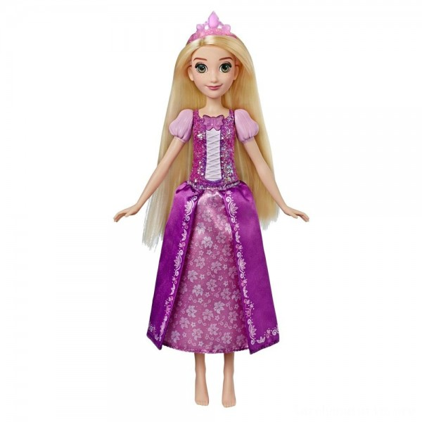 Black Friday - Disney Princess Shimmering Song Rapunzel, Singing Doll