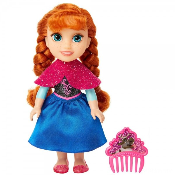 Disney Princess Petite Anna Fashion Doll