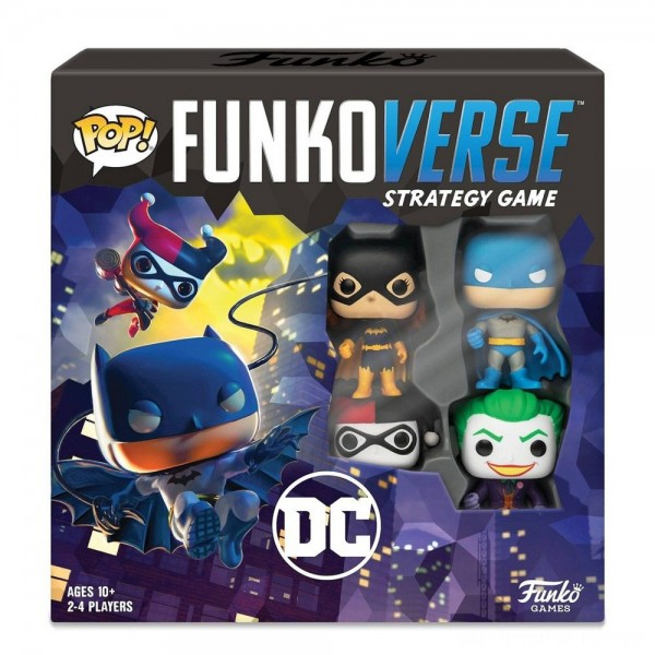 Funkoverse Board Game: DC Comics #100 Base Set