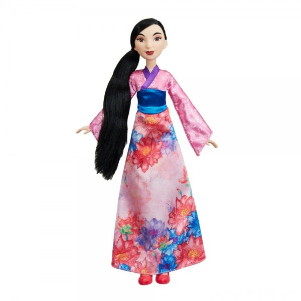 Black Friday - Disney Princess Royal Shimmer - Mulan Doll