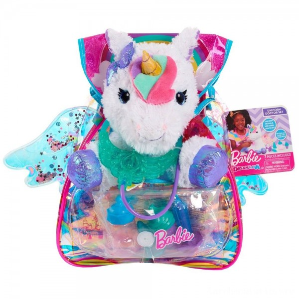 Barbie Unicorn Pet Doctor