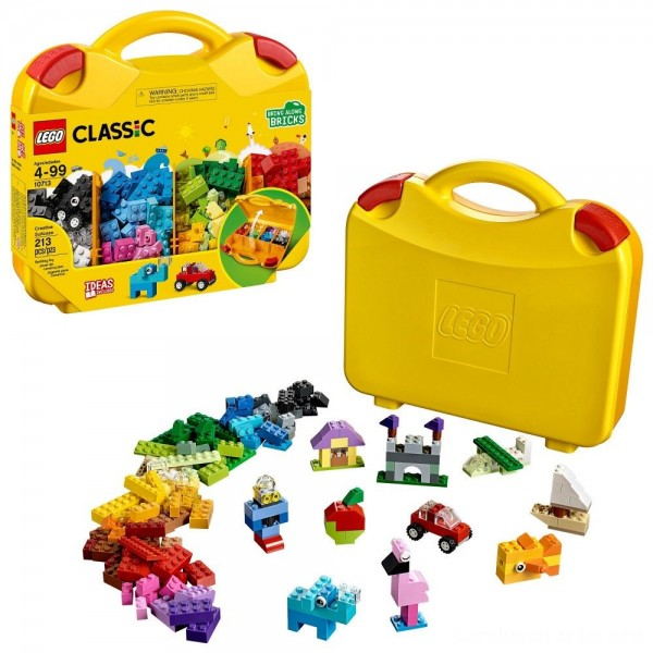 Black Friday - LEGO Classic Creative Suitcase 10713