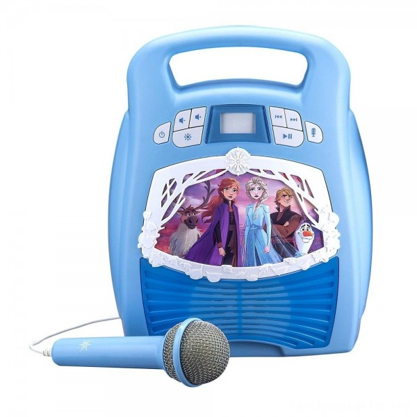 Disney Frozen 2 MP3 Karaoke Light Show with Microphone