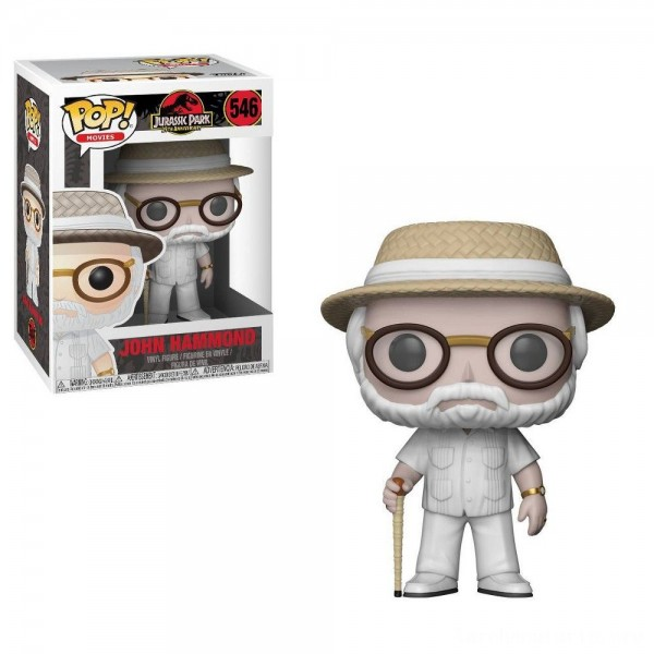Black Friday - Funko POP! Movies: Jurassic Park 25th Anniversary - John Hammond - Minifigure