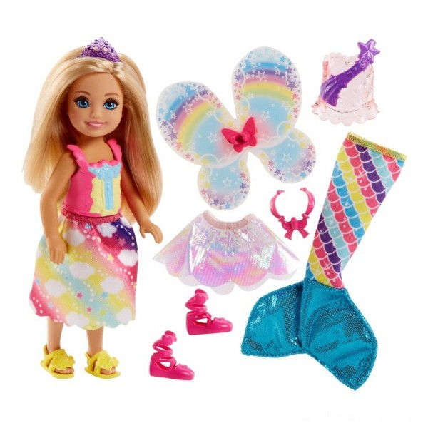 Black Friday - Barbie Dreamtopia Chelsea Doll and Fashions