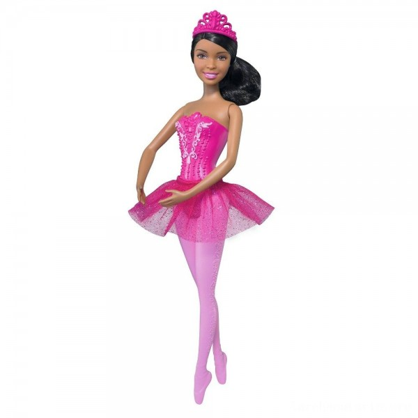 Black Friday - Barbie You Can Be Anything Ballerina Nikki Doll