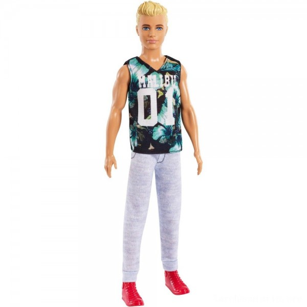 Black Friday - Barbie Ken Fashionistas Doll - Game Sunday