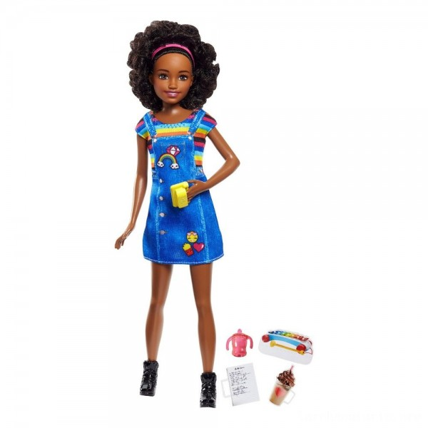 Black Friday - Barbie Skipper Babysisters Inc. Doll - Brunette