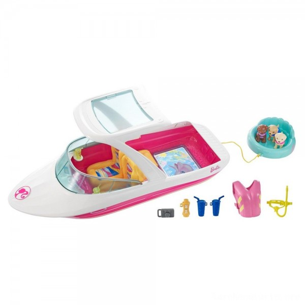 Black Friday - Barbie Dolphin Magic Ocean View Boat