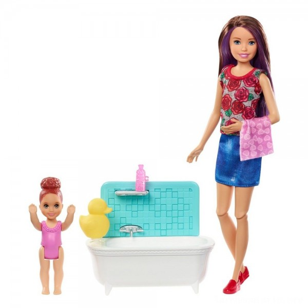 Barbie Skipper Babysitters Inc. Doll & Playset - Blond
