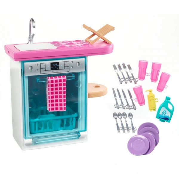 Black Friday - Barbie Dishwasher Accessory