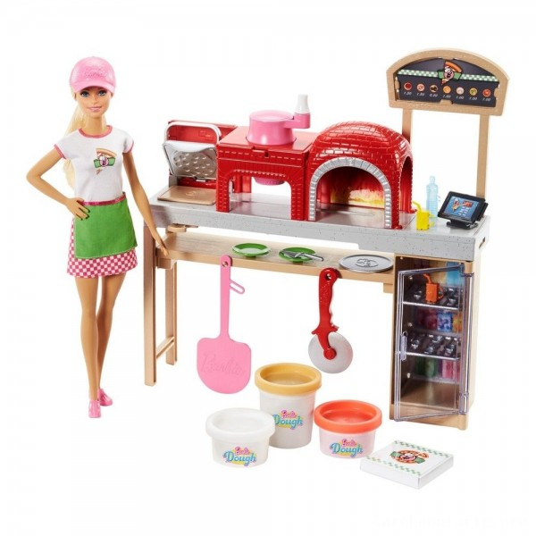 Black Friday - Barbie Careers Pizza Chef Doll and Playset