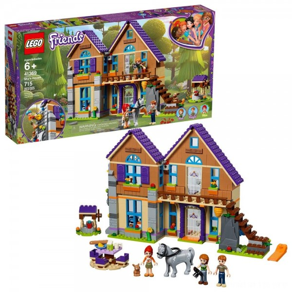 Black Friday - LEGO Friends Mia's House 41369