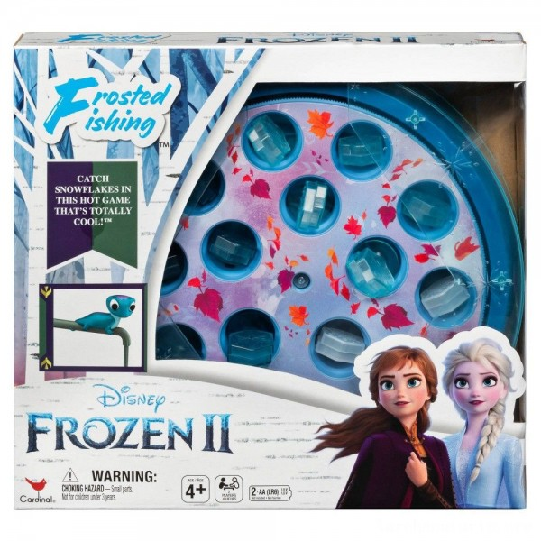 Black Friday - Disney Frozen 2 Frosted Fishing Board Game, Kids Unisex