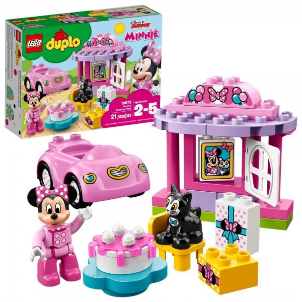 Black Friday - LEGO DUPLO Disney Minnie Mouse's Birthday Party 10873