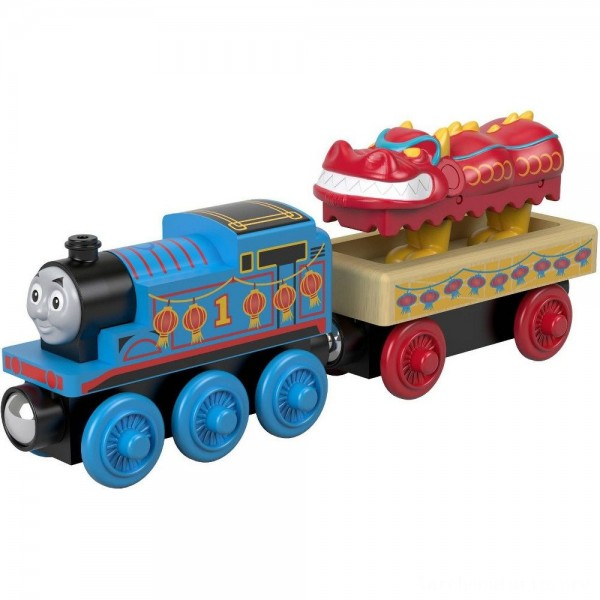 Fisher-Price Thomas & Friends Wood Thomas and the Dragon