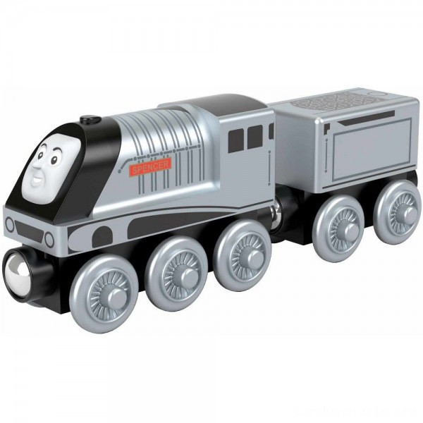 Fisher-Price Thomas & Friends Wood Spencer Engine