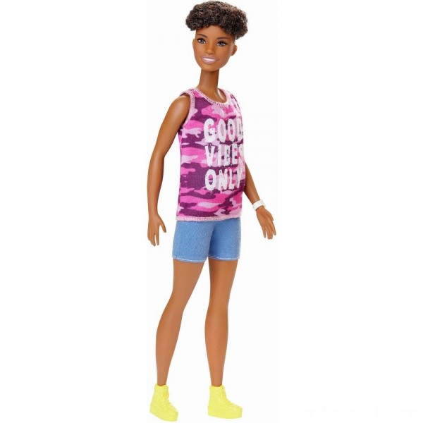 Black Friday - Barbie Fashionistas Doll #128 Good Vibes Only