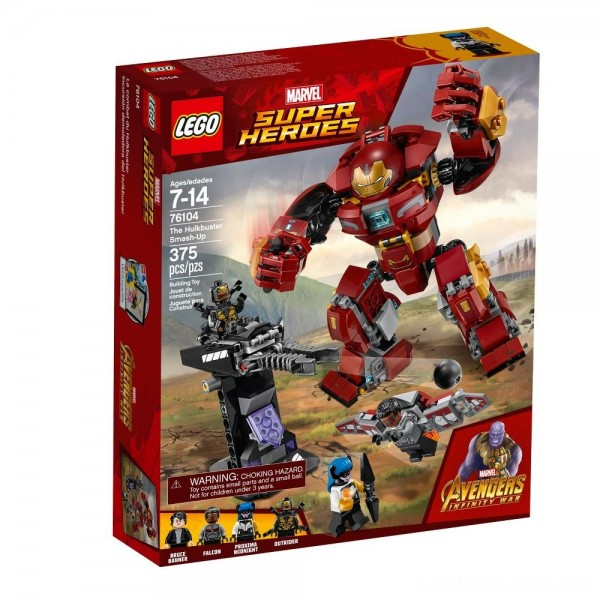 Black Friday - LEGO Super Heroes Marvel Avengers Movie The Hulkbuster Smash-Up 76104