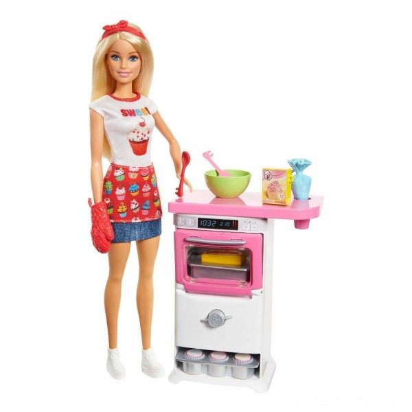 Barbie Careers Bakery Chef Doll and Playset