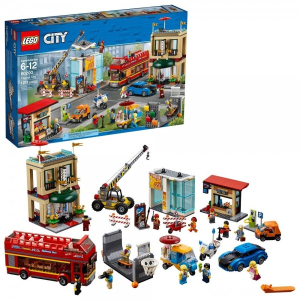Black Friday - LEGO City Town Capital City 60200