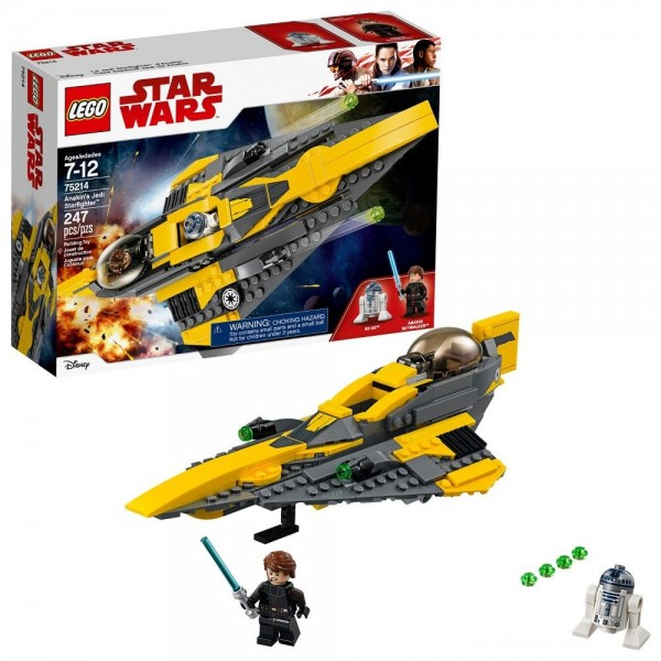 Black Friday - LEGO Star Wars Anakin's Jedi Starfighter 75214