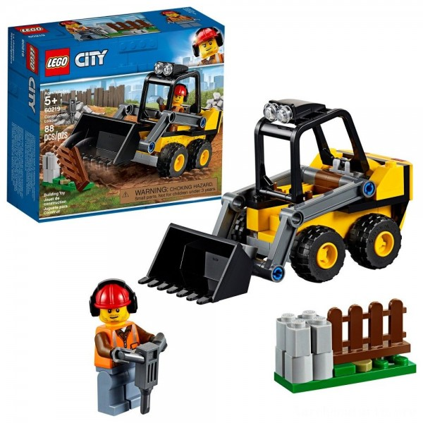 Black Friday - LEGO City Construction Loader 60219